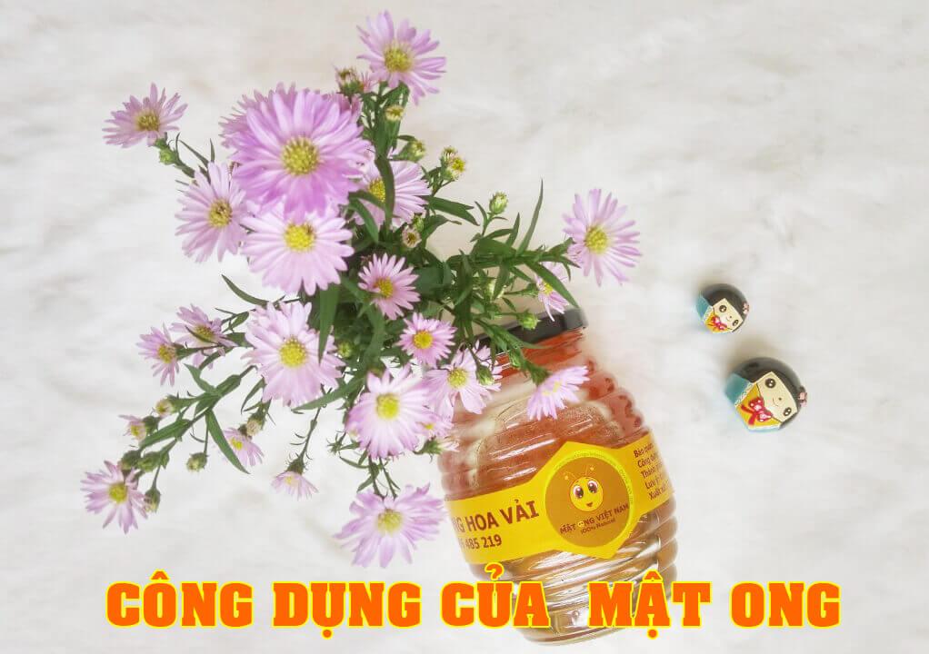Công dụng mật ong
